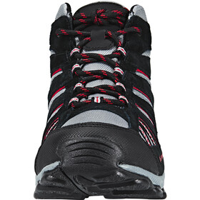 Columbia North Plains Mid Waterproof Shoes Youth grey ash/mountain red